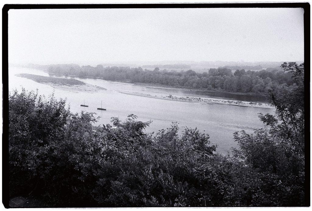 La Loire depuis le château de Chaumont