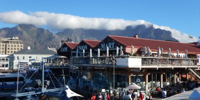 La belle et grande ville du Cap en Afrique du Sud