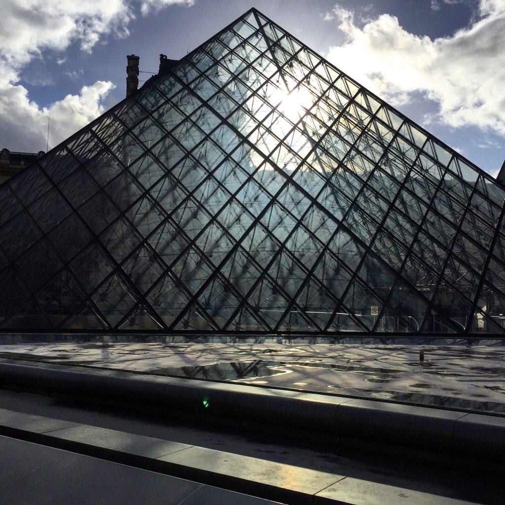 La pyramide du Louvre, Paris 1er
