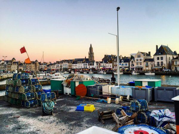 Le port du Croisic en fin de journée