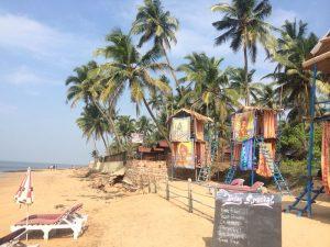Quelque part sur une plage dans le sud ouest de l'Inde