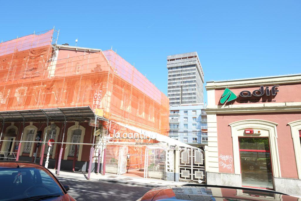 Reconstruction du quartier de la gare à San Sebastian
