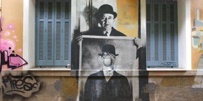 Rue des arts et du Street Art, Athènes