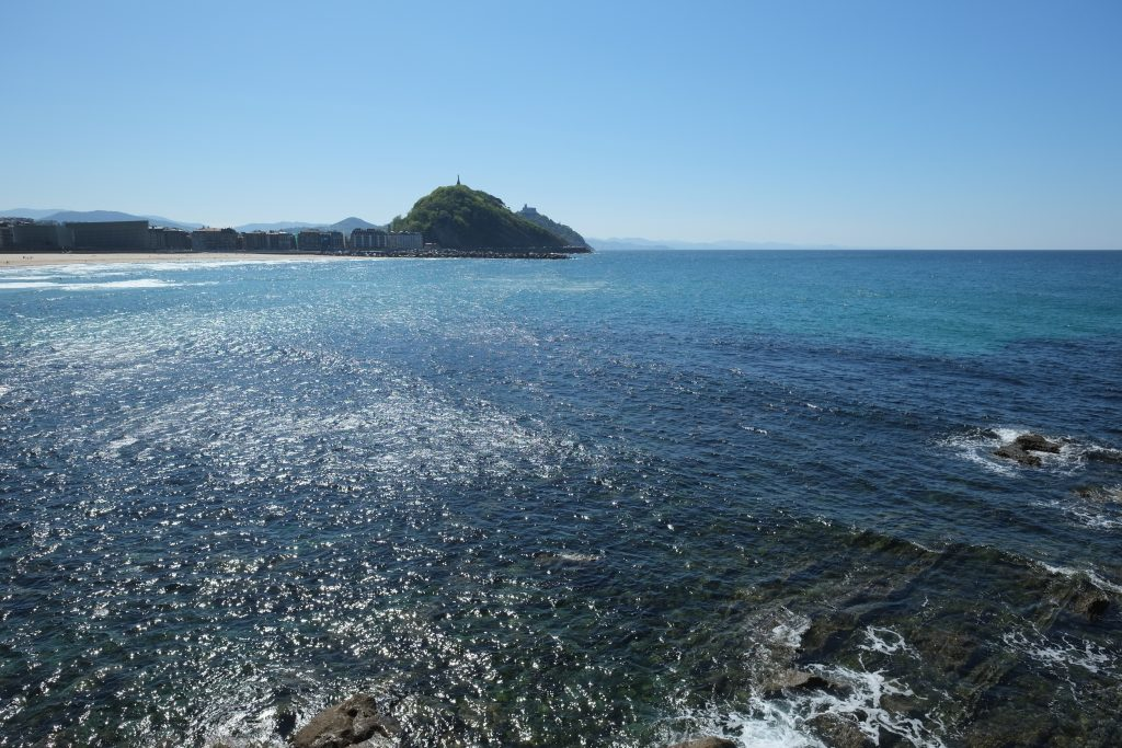 San Sebastian Donostia, l'argement ouvert sur l'Océan Atlantique