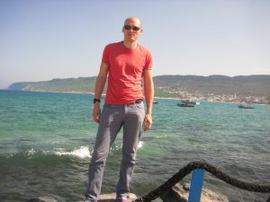 Sur les bords de la mer en Tunisie