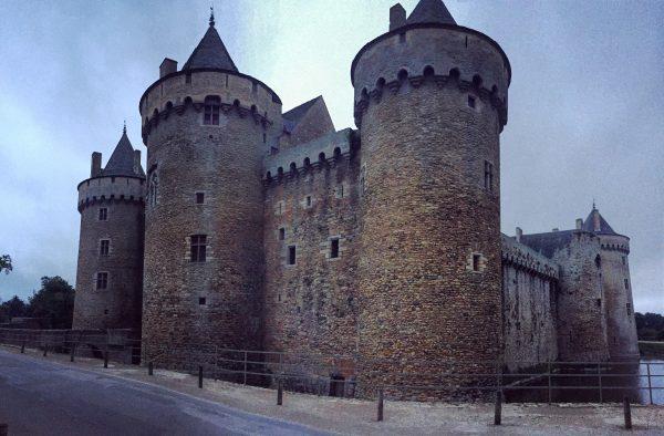 Le château de Suscinio près de Sarzeau est l'un des plus beaux châteaux de Bretagne