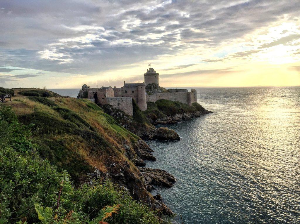Le château de Fort la Latte dans les côtes d'Armor