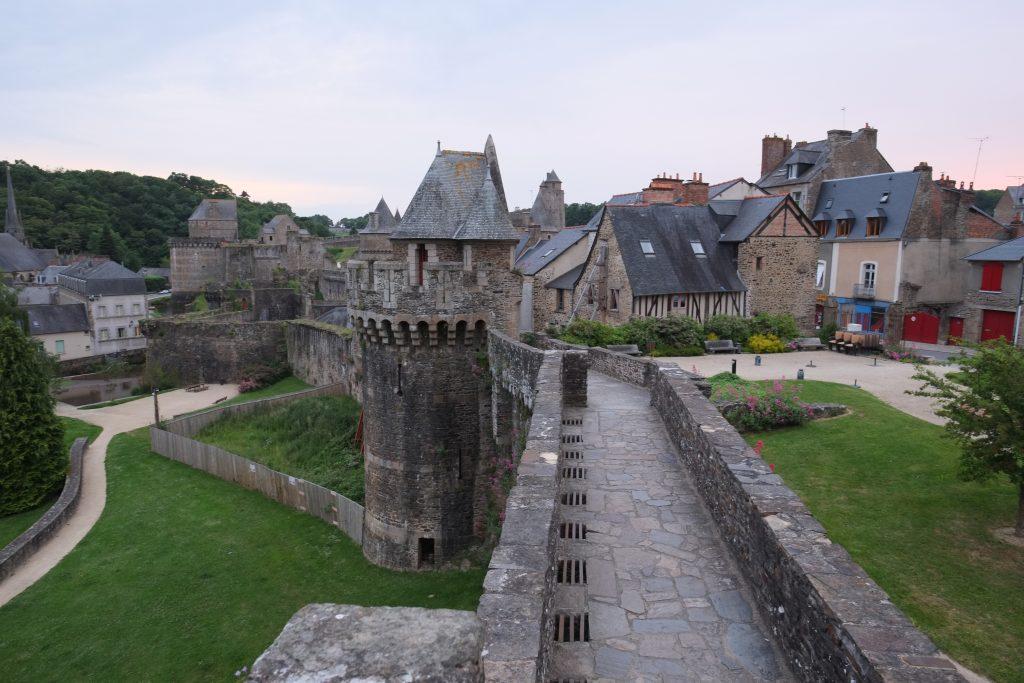 Le château de Fougères en Bretagne
