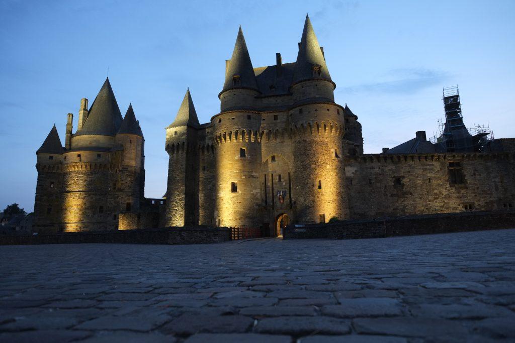 Le château de Vitré, l'un des plus beaux châteaux de Bretagne