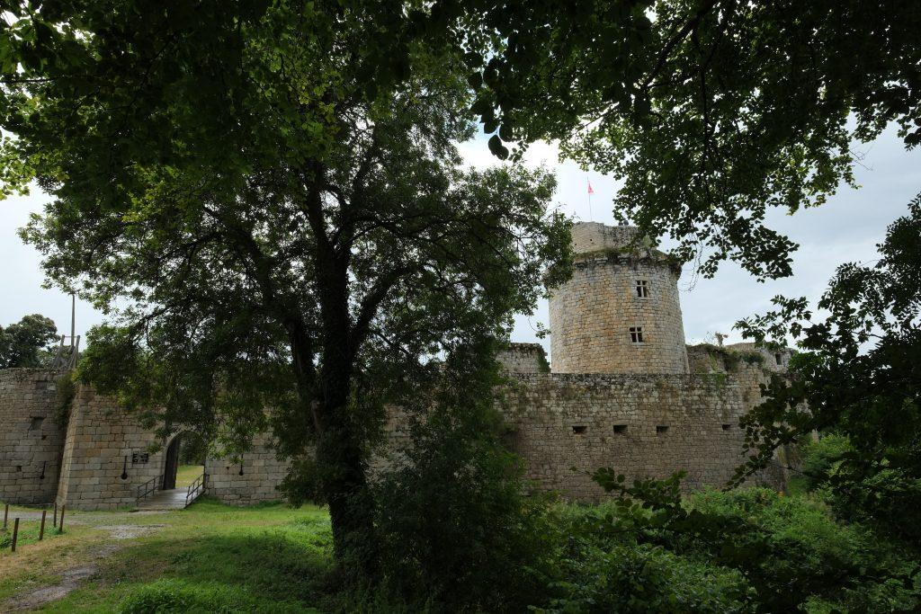 Le château fort de Tonquédec