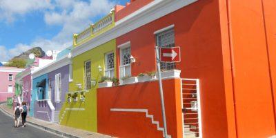 Le quartier malais du Cap, l'une des villes les plus colorées du monde