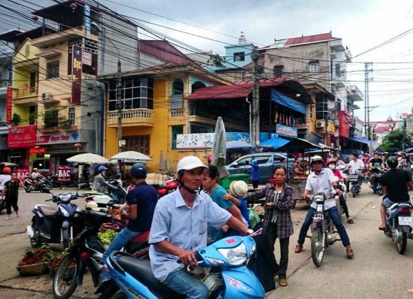 Anarchie routière à Hanoï
