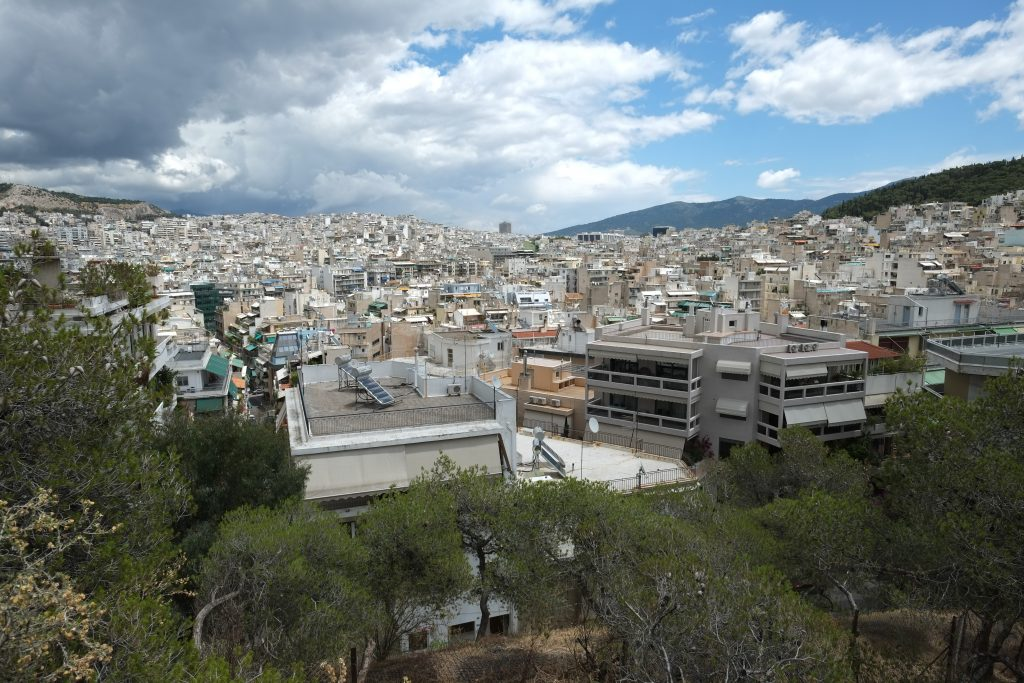Athènes l'une des villes les plus chaudes d'Europe