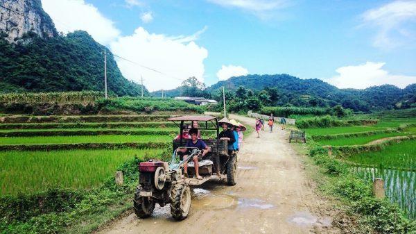 Errance dans le nord du Vietnam