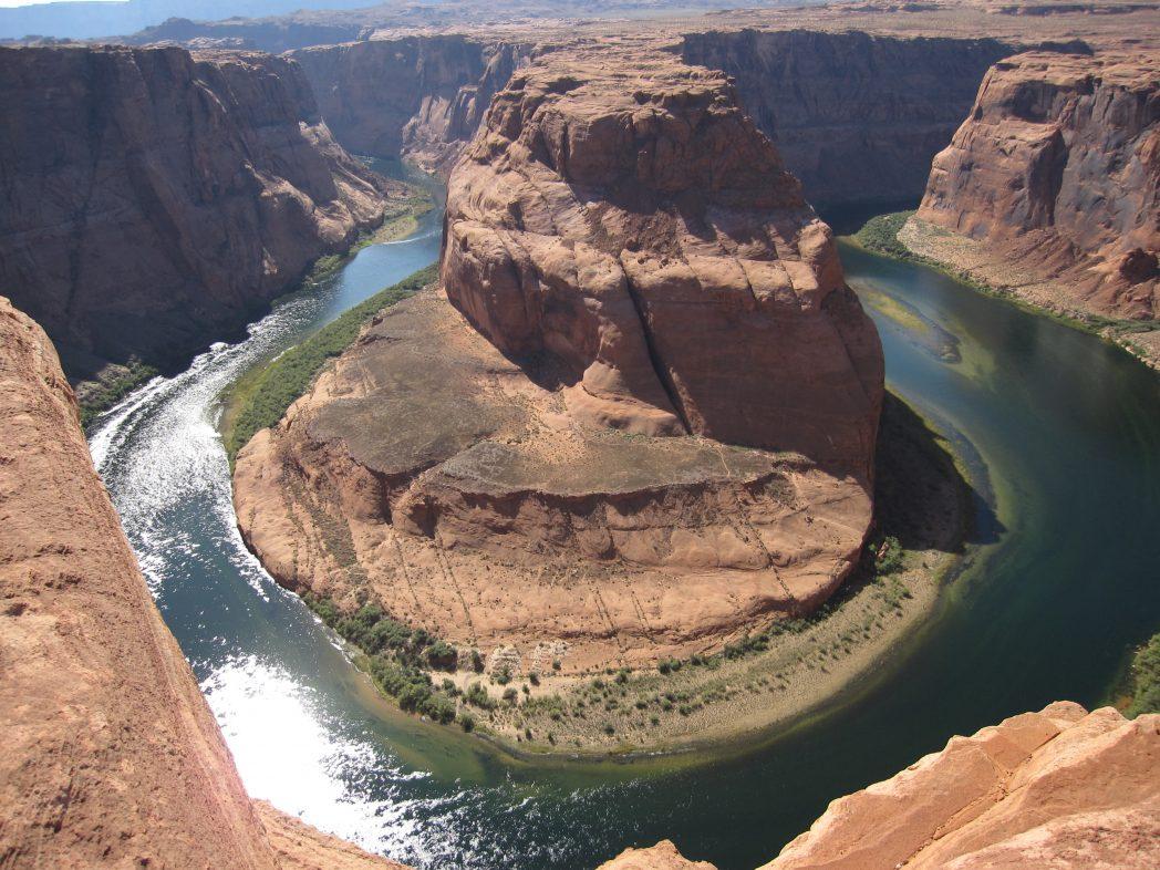 Horseshoe bend, le fer à cheval de la Colorado river, Etats-Unis