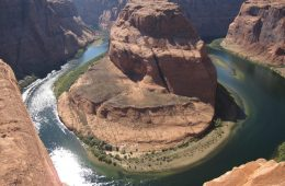 Horseshoe bend, le fer à cheval de la Colorado river, Etats-Unis