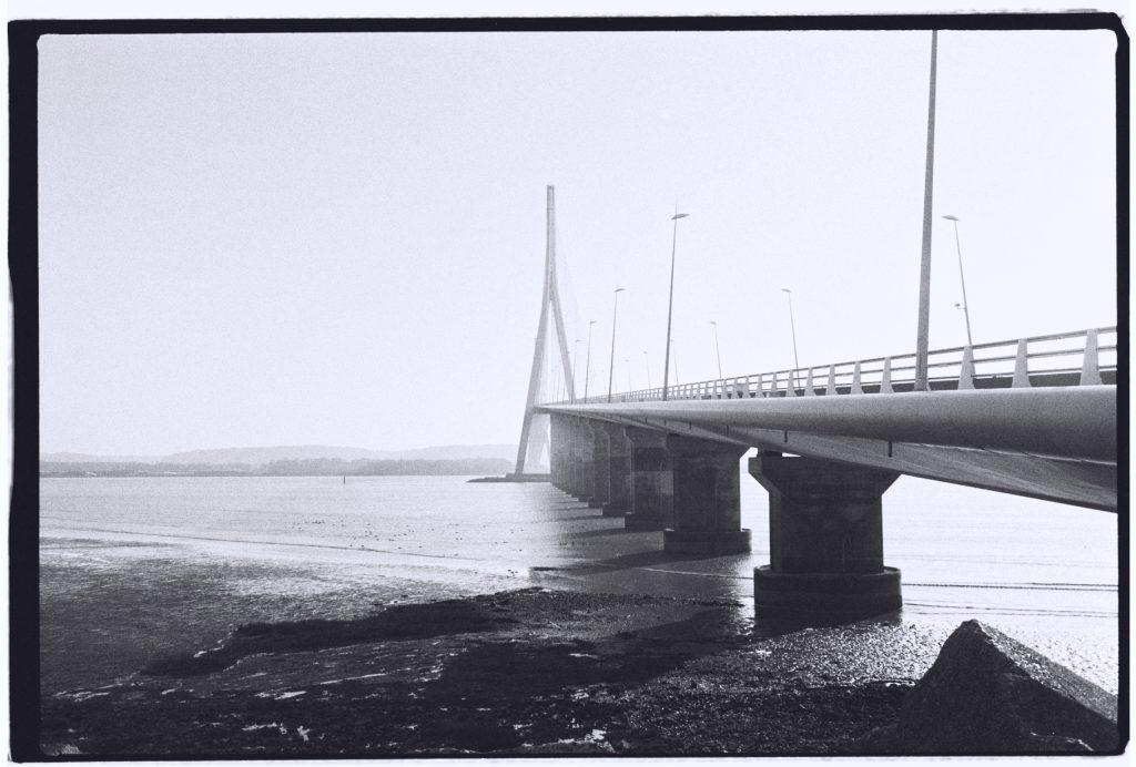 Le Pont de Normandie, l'un des ponts les plus longs de France