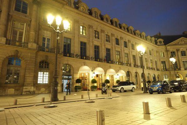 Le Ritz l'un des hôtels de luxe les plus chics de Paris