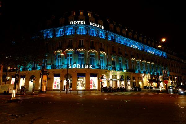 Le Scribe un hôtel de luxe parisien