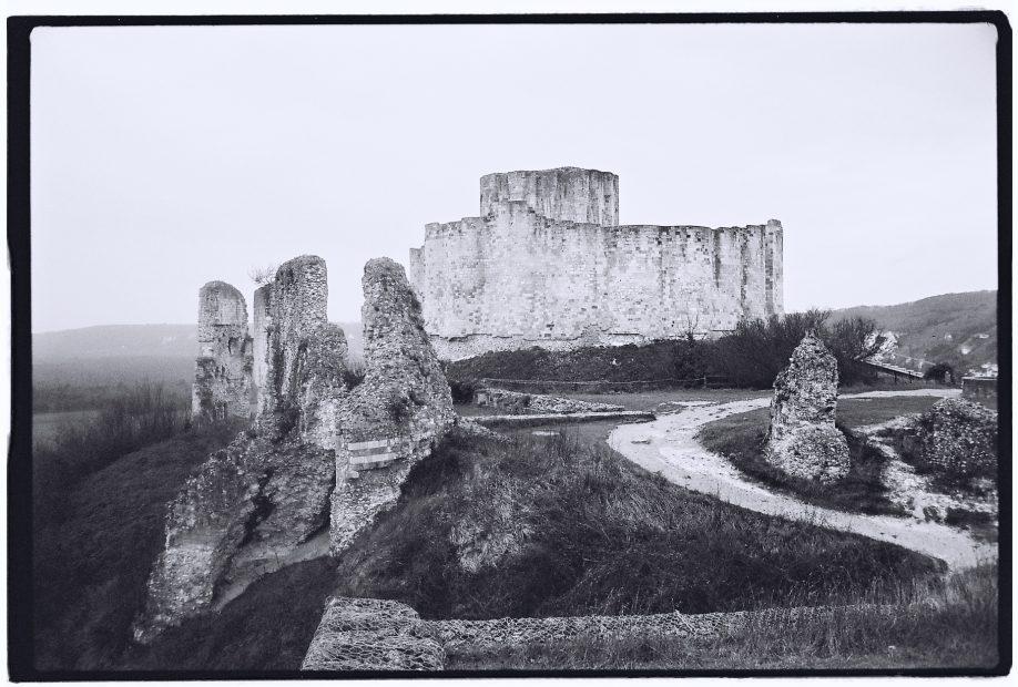 Le château en ruine des Andalys
