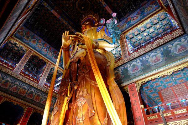 Le temple de Lamas à Pékin