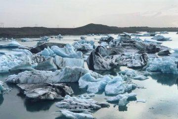 Le lac glaciaire de Jokulsarlon en Islande