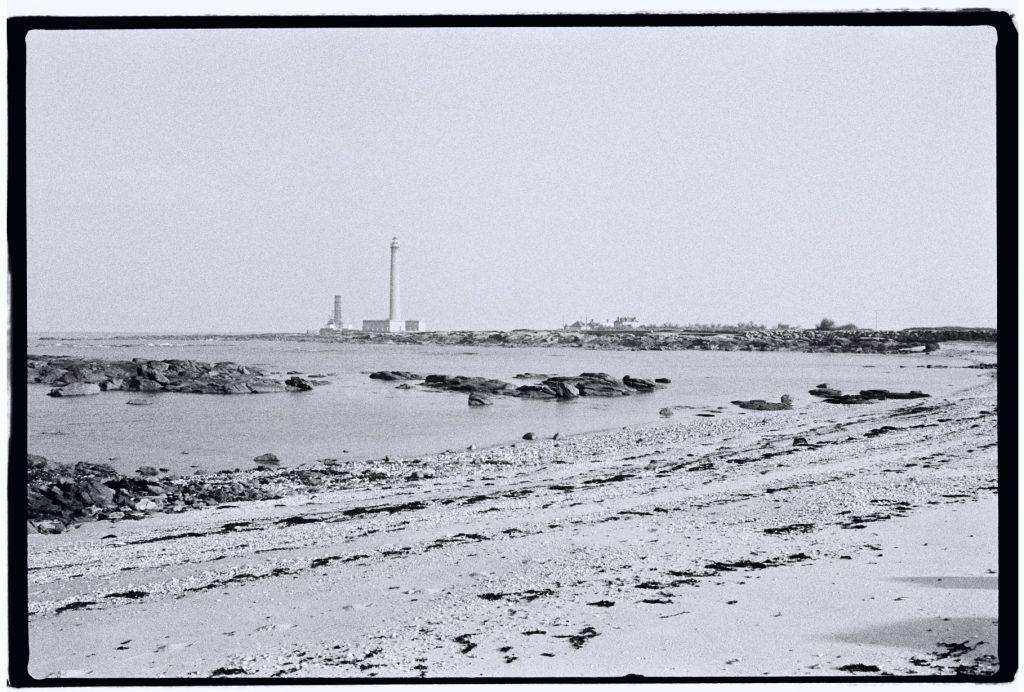 Le phare de Gatteville dans le nord est du Cotentin