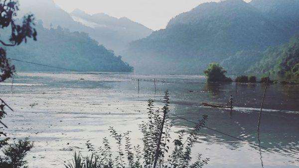 Le région des lacs de Ba Be au Vietnam