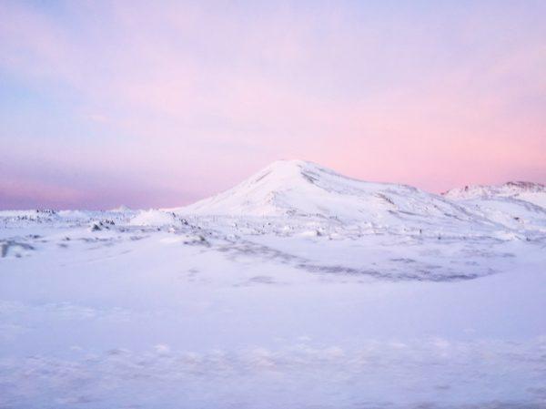 L'Islande au crépuscule