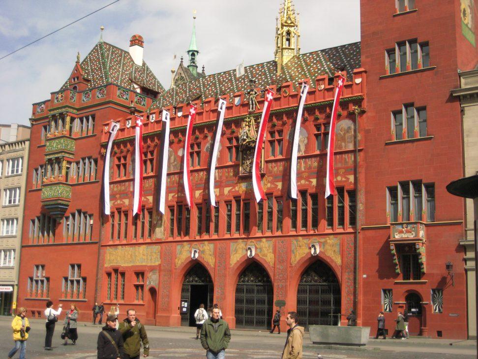 L'hôtel de ville de Bâle