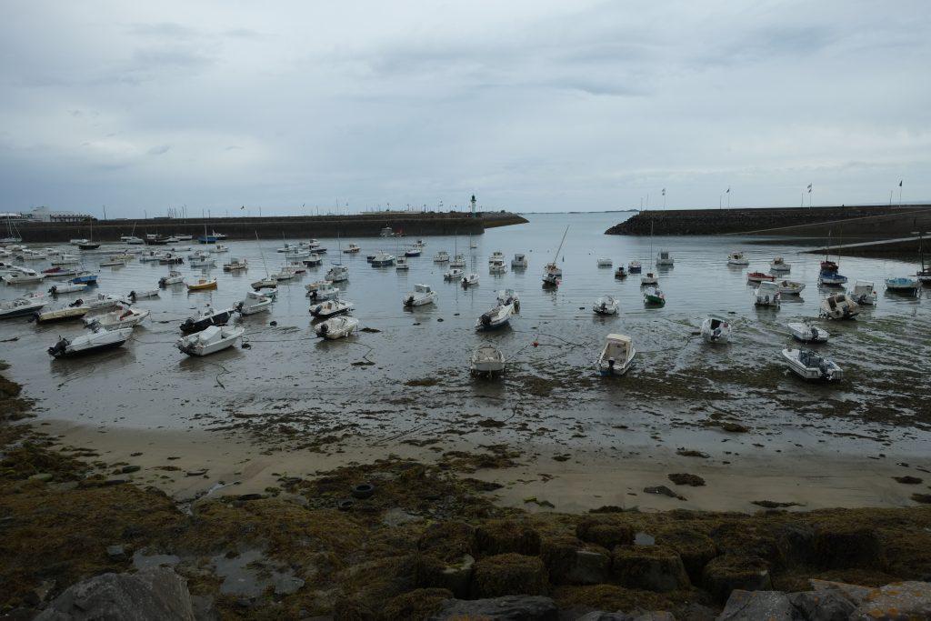 Saint-Quai Portrieux à marée basse