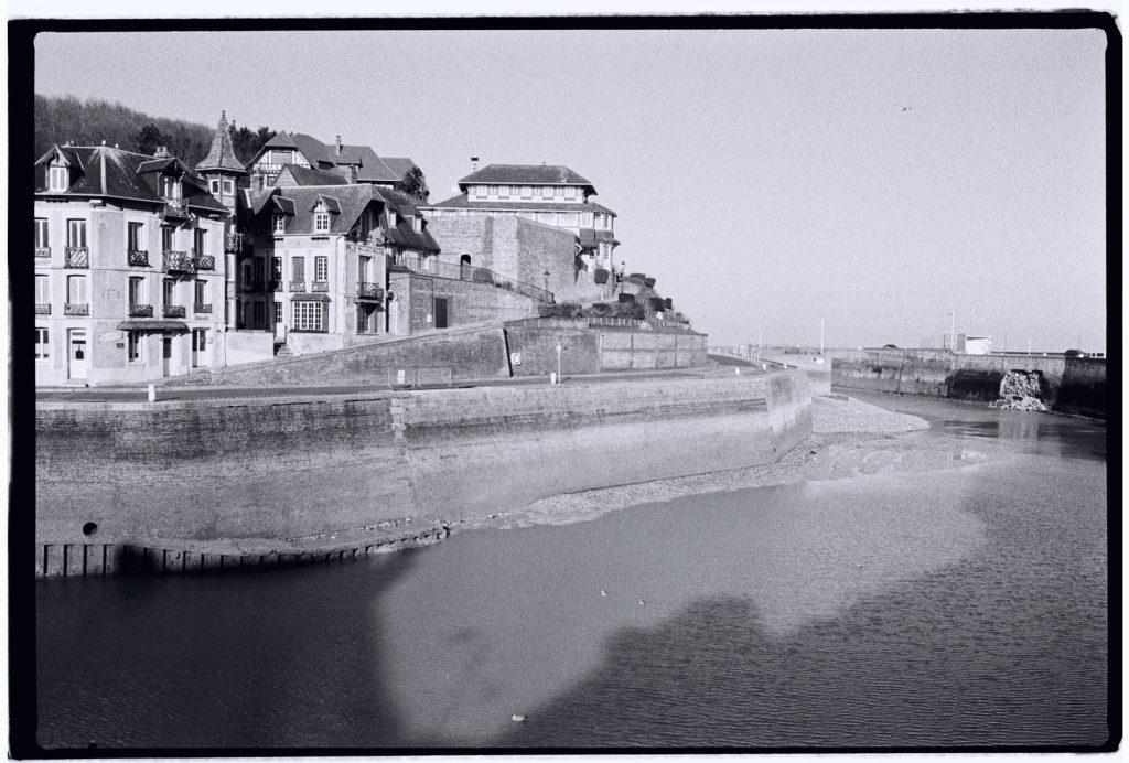 Saint-Valéry en Caux à marée montante