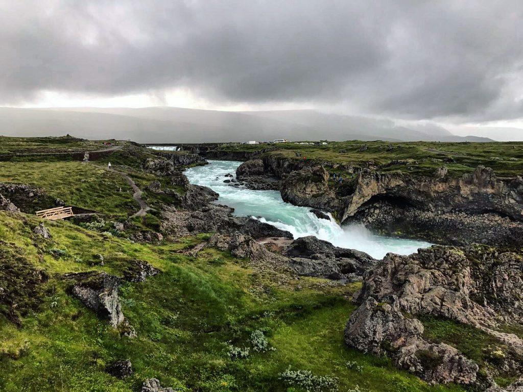 Une splendide rivière islandaise