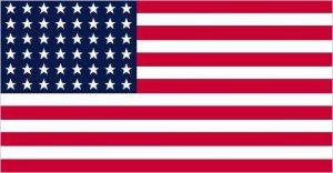 Le drapeau des Etats -Unis