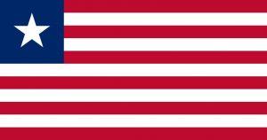 L'étendart du Liberia