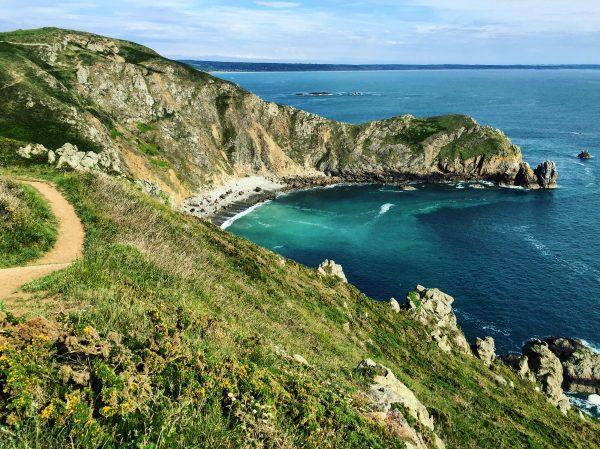 Balade sur le chemin des douaniers au Nez Jobourg dans le Cotentin
