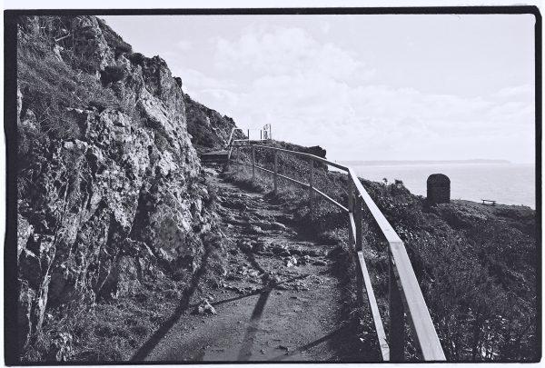 Balade sur les falaises de Granville