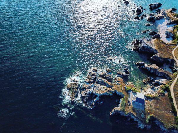 La côte Sauvage, l'une des choses à faire au Pouliguen