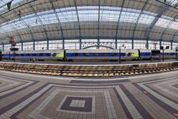 La gare Saint-Jean à Bordeaux, l'une des plus belles gares de France