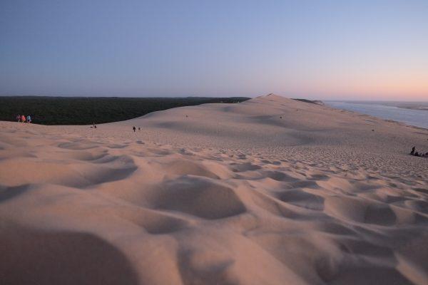La Dune du Pyla, un grand tas de sable entre l'océan Atlantique et la forêt des Landes