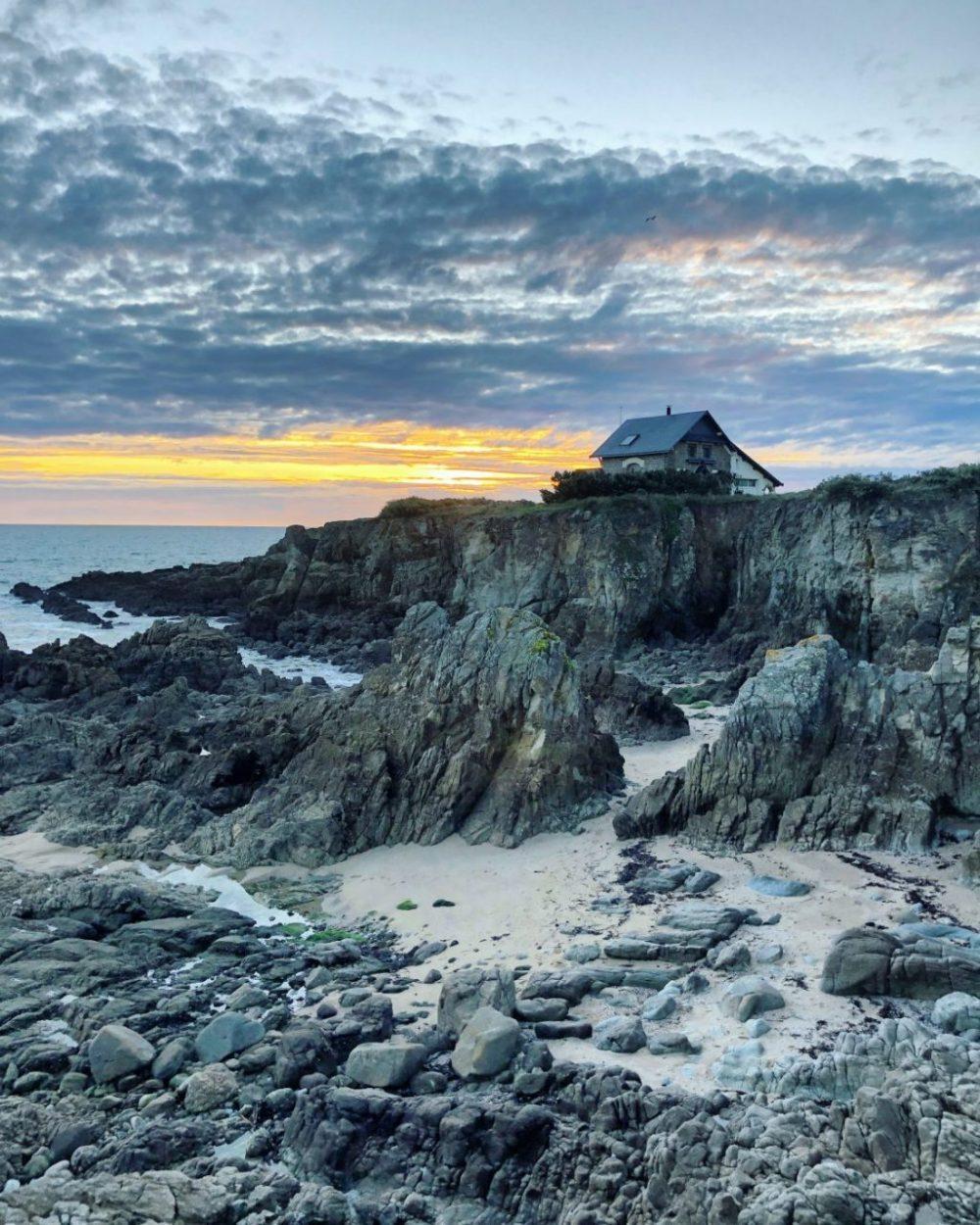 La côte sauvage du Pouliguen en automne