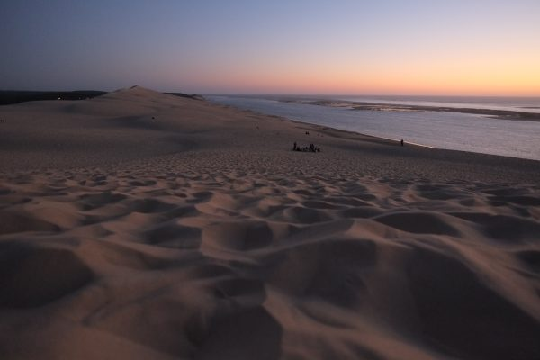 La dune du Pyla au crépuscule