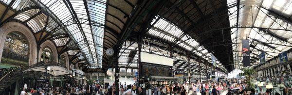 La gare de Lyon, l'une des plus grandes de France