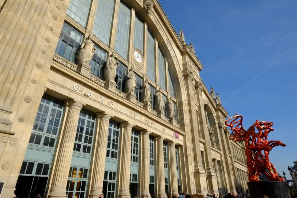 La belle façade de la Gare du Nord