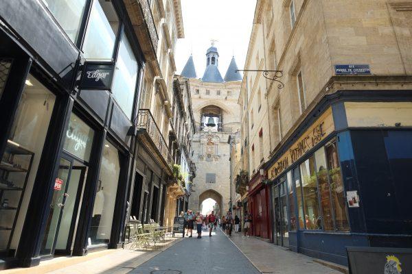 La porte de Cailhau à Bordeaux