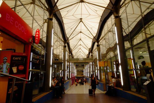 L'étrange couloir de la gare de Nantes