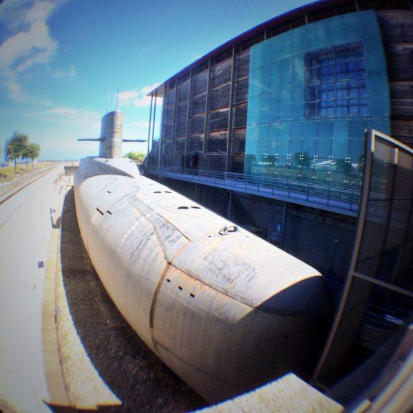 Le Redoutable le premier sous marin nucléaire français lanceur d'engins