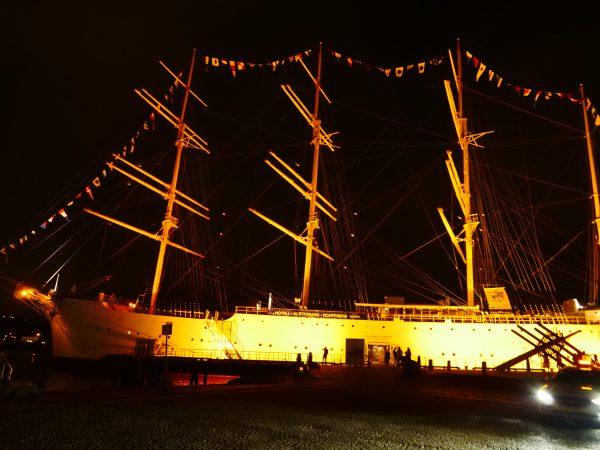 L'un des plus grands voiliers au monde