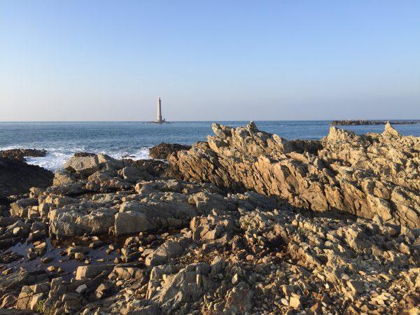 Le phare de Goury, l'un des plus hauts phares de France