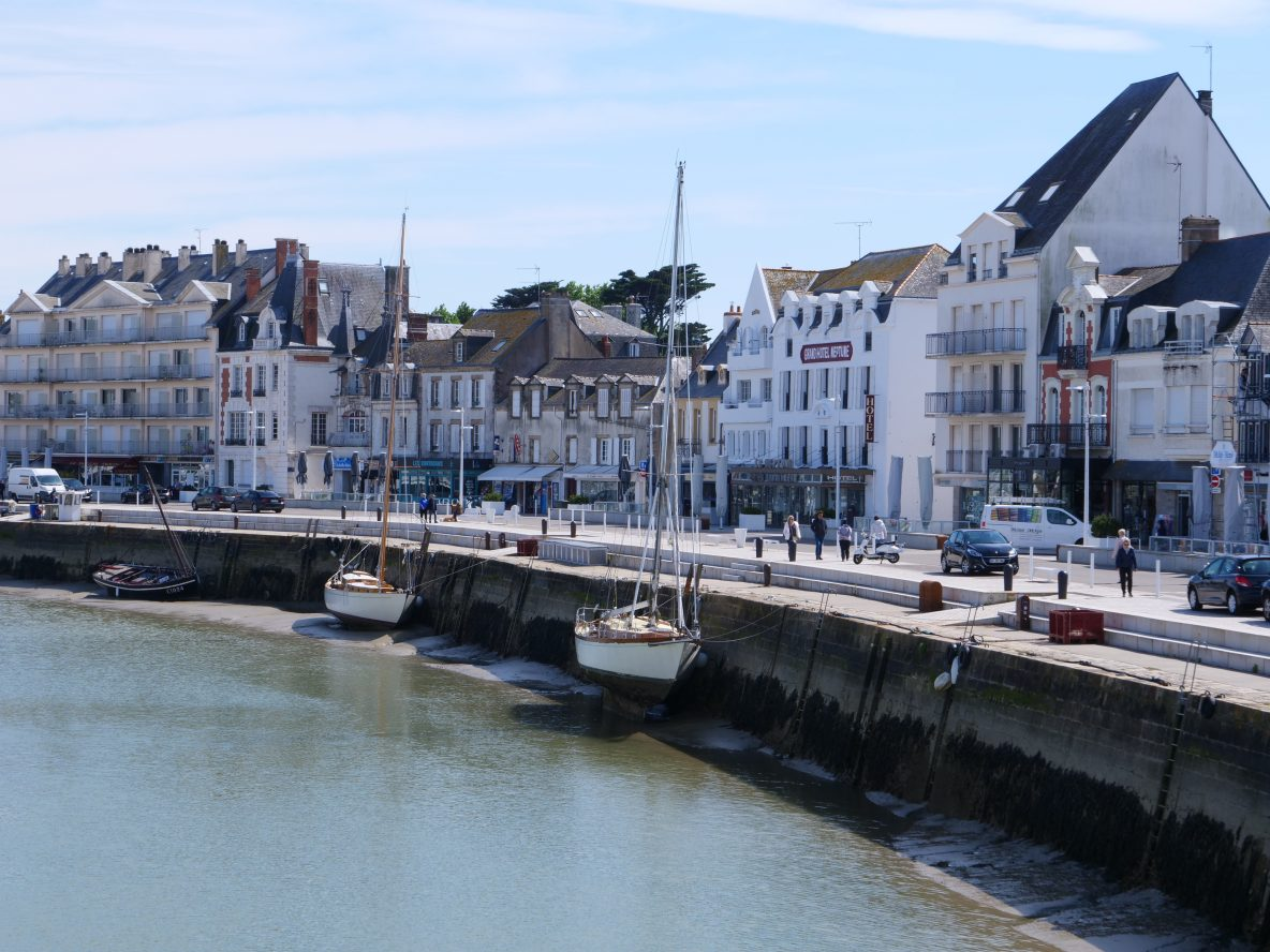 Se balader sur les quais du joli port du Pouliguen